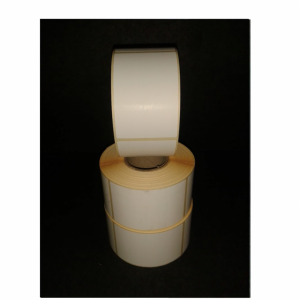 Thermal Scale Label Roll 49x74mm Plain White