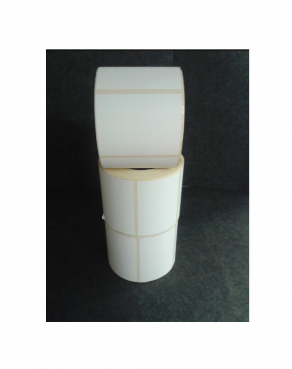 Thermal Scale Label Roll 58x44mm Plain White
