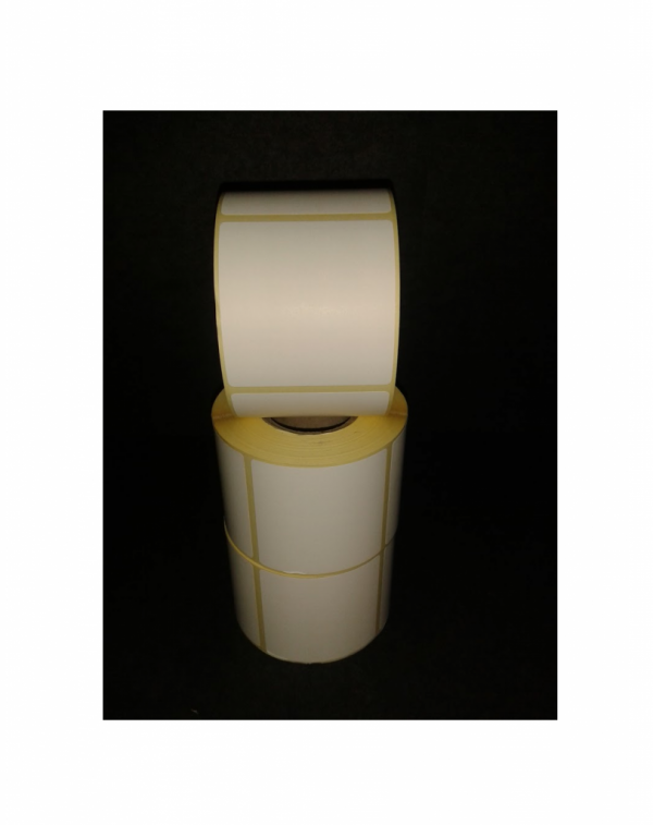 Thermal Scale Label Roll 58x60mm Plain White