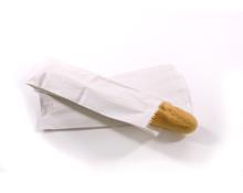 Paper Bags White 4x6x14 Demi Baguette per 500