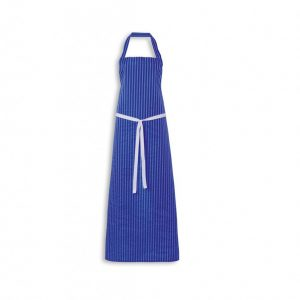 Apron Nylon Royal Blue White