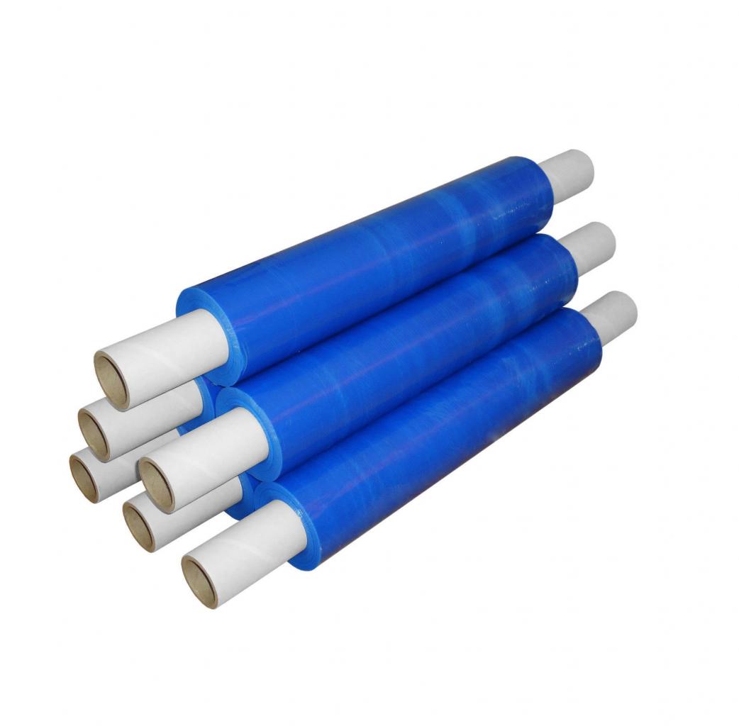 Pallet Wrap Roll BLUE 400mmx300 20Mu