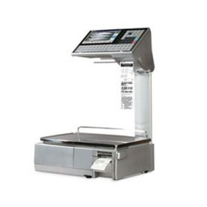 Ishida Uni-7 Elevator 2 Price Computing Scale Printer 15kg - Twin Printer