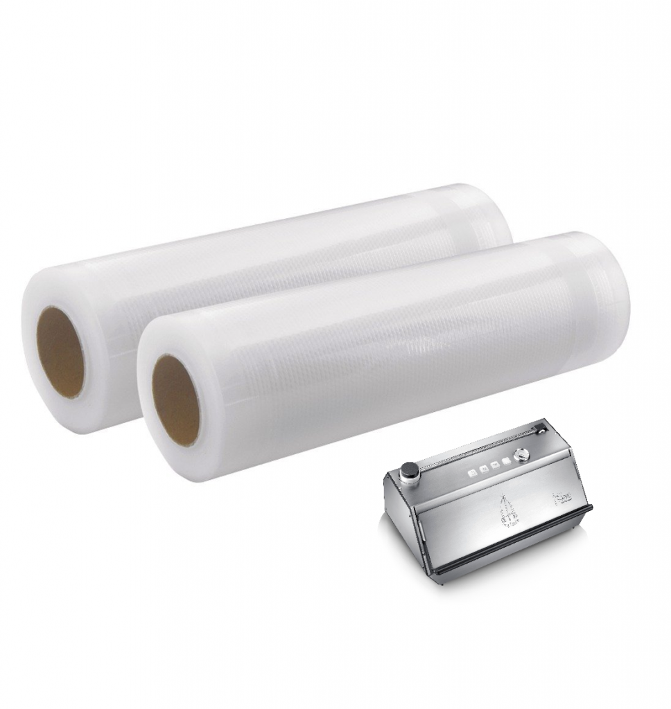 Embossed External Vacuum Pouch Rolls 300mm x 12 metres