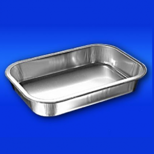 Foil Tray Smooth Wall 34mm