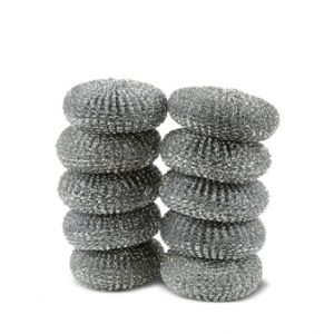 Galvanised Scourers Pack 10