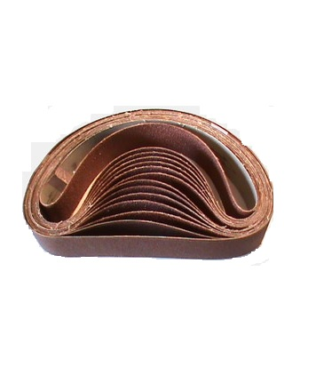 Hook Eye Knife Sharpener Belt 120 Grit Pack 25