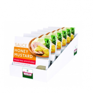 Verstegen Micro Sauce Retail Honey and Mustard 6x80ml