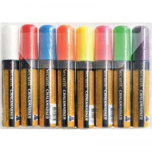Liquid Chalk Assorted Colour 8pk