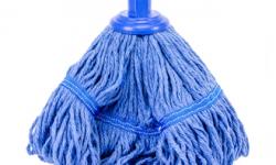 Mop Head Blue Screw On