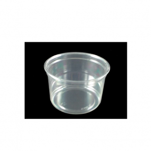 Olive Pots Clear 12oz With Lids Per Box 250