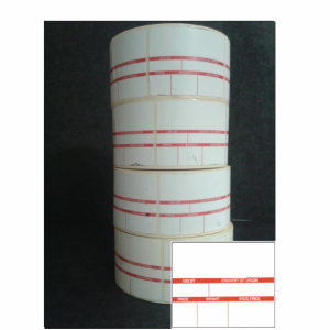 Thermal Scale Label Roll 52x38mm PACK SCAN FORMAT 21