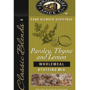 Shropshire Spice Company Parsley Thyme & Lemon Retail Stuffing Mix 6x150g