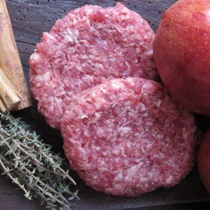 Pork & Apple burger (2)