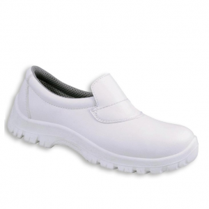 Safety Shoe Slip On White Size 8 Pair