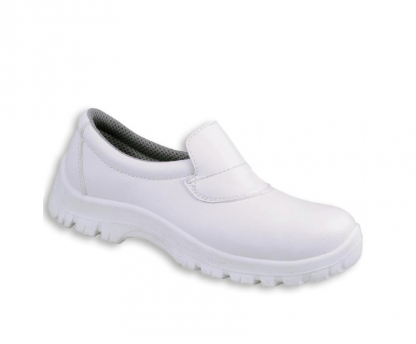 Safety Shoe Slip On White Size 7 Pair