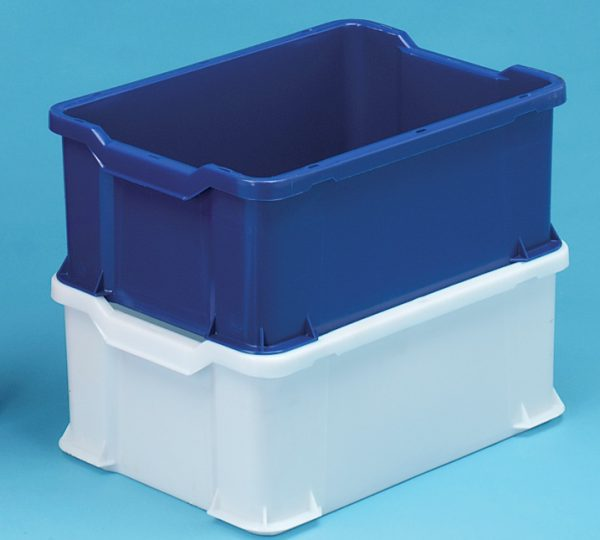 Stacking Trays 600x400x225 White 40ltr
