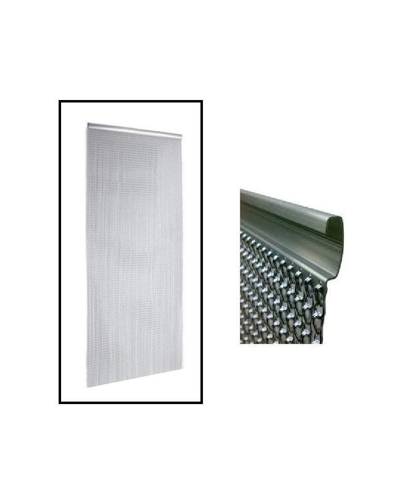 Silver Metal Door Chain Aluminium