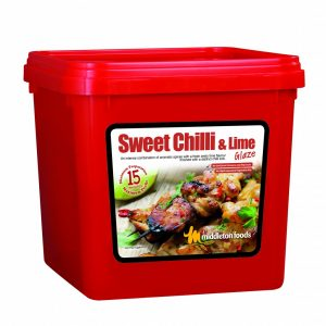 Sweet Chilli and Lime glaze 2.5kg tub