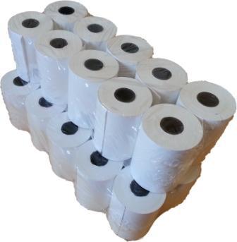 Thermal Paper Rolls 57x40x12.7mm 20 Rolls
