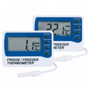 Fridge Freezer Thermometer Fridge Alarm Thermometer