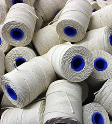 Butchers String Twine Rayon No 5 White