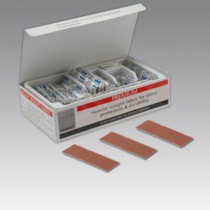 Flesh Fabirc Plasters Steroplast Steroflex 7.5 x 2.5 (per box 100)